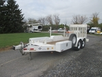 Utility Towing Trailer - Heavy Duty  tow, towing, bed, equipment, deck, pin, lift, liftgate, gate,