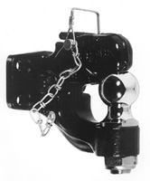 "8-Ton Combo Hitch with Chrome 2"" Ball hitch, camp, recreation, boat, tow, trailer, BH82000, rv"