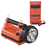 Streamlight Lantern - Rechargeable, LED, Vehicle Mount, Portable, E-Spot Lite Box bright, brightness, camp, camping, polycarbonate, emergency, fire, police, stability, stable, 189W391, orange
